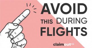 Avoid This During Flights