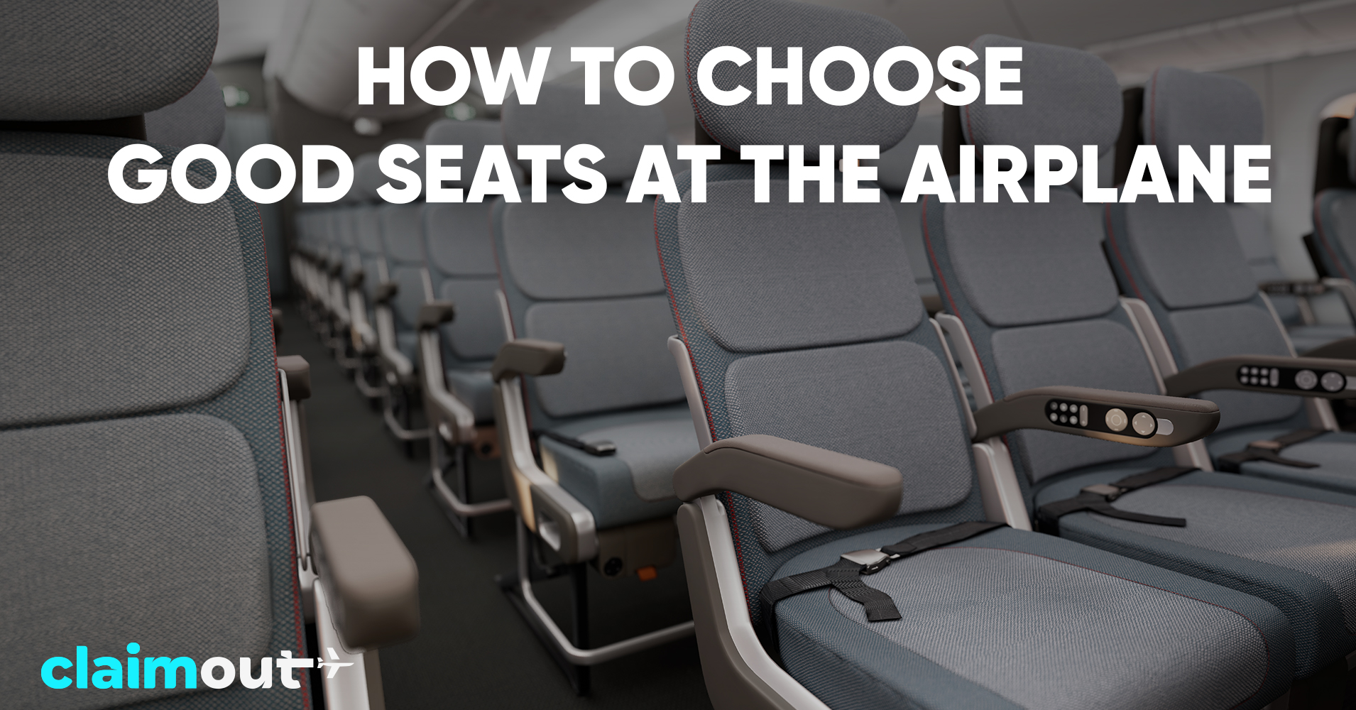 How to choose good seats at the airplane