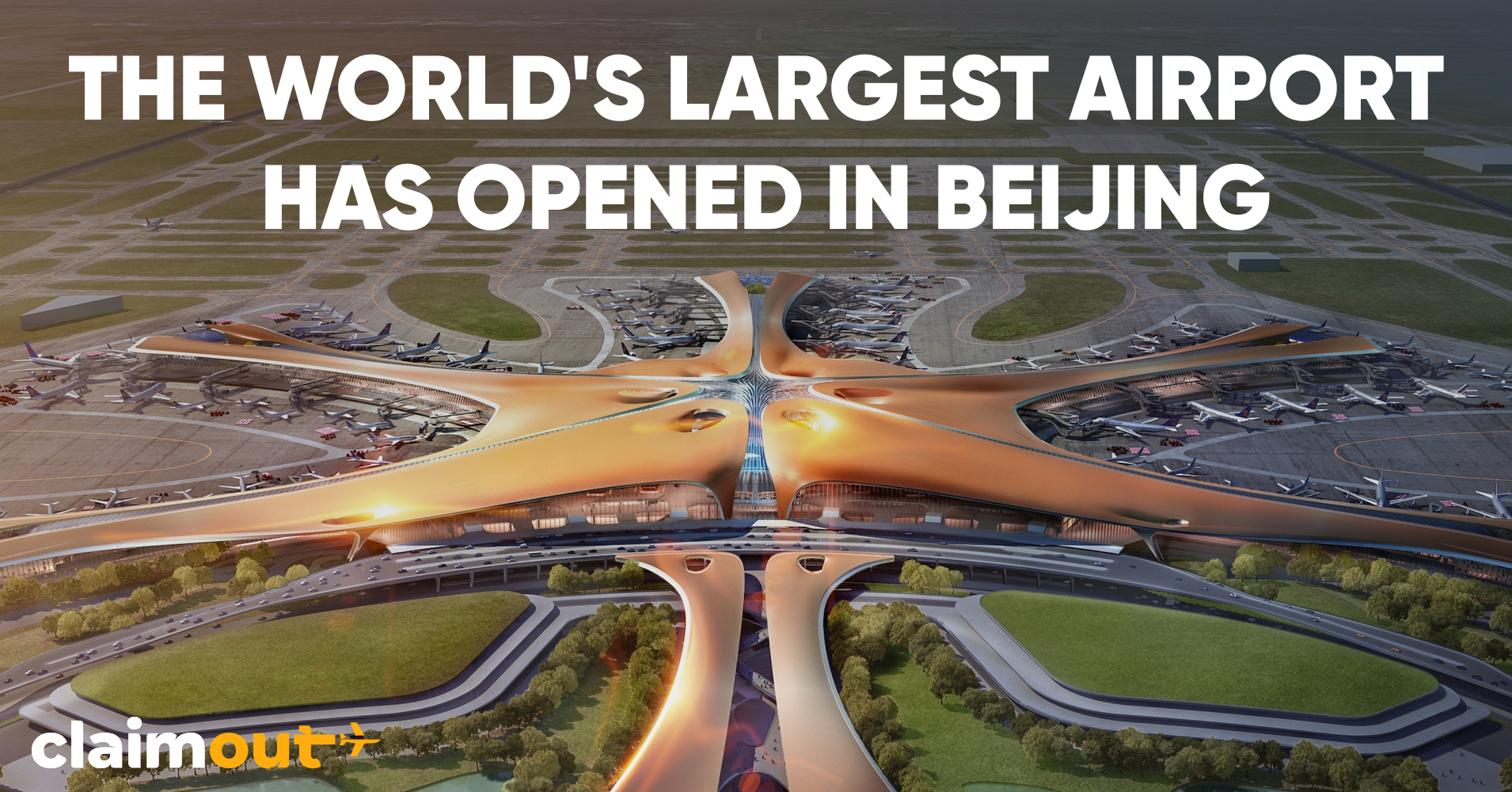 The world's largest airport