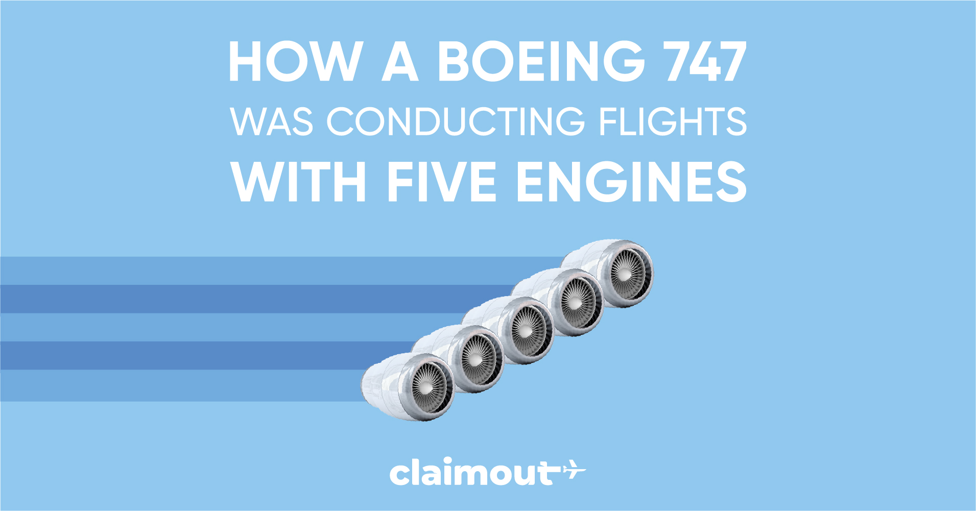 How a Boeing 747 was conducting flights with five engines